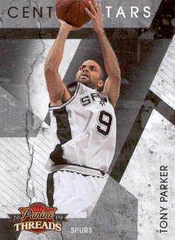 2009-10 Panini Threads Century Stars #13 Tony Parker