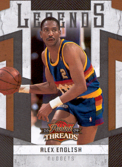 2009-10 Panini Threads Legends #10 Alex English