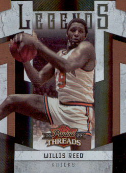 2009-10 Panini Threads Legends Century Proof #2 Willis Reed