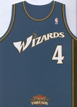 2009-10 Panini Threads Team Threads Away #49 Antawn Jamison