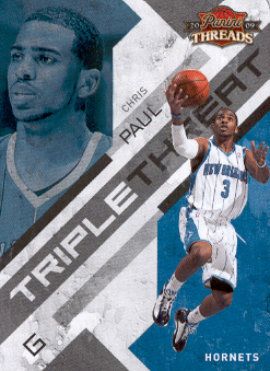 2009-10 Panini Threads Triple Threat #2 Chris Paul