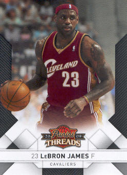 2009-10 Panini Threads #1 LeBron James
