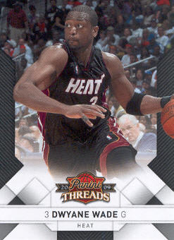 2009-10 Panini Threads #2 Dwyane Wade