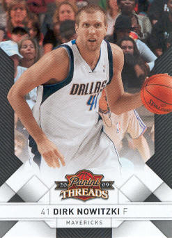 2009-10 Panini Threads #5 Dirk Nowitzki