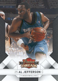 2009-10 Panini Threads #7 Al Jefferson
