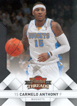 2009-10 Panini Threads #14 Carmelo Anthony