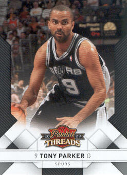 2009-10 Panini Threads #19 Tony Parker