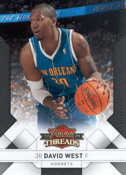 2009-10 Panini Threads #20 David West