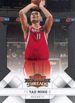 2009-10 Panini Threads #24 Yao Ming