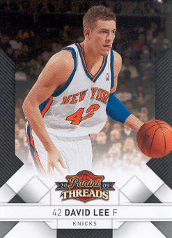 2009-10 Panini Threads #28 David Lee