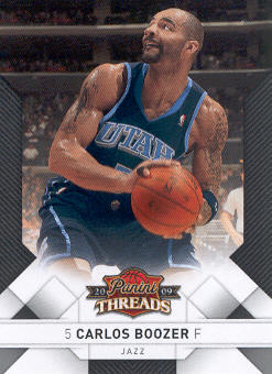 2009-10 Panini Threads #31 Carlos Boozer