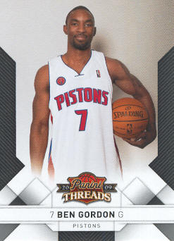 2009-10 Panini Threads #36 Ben Gordon
