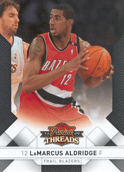 2009-10 Panini Threads #37 LaMarcus Aldridge