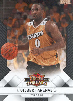2009-10 Panini Threads #38 Gilbert Arenas