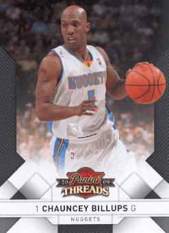 2009-10 Panini Threads #40 Chauncey Billups