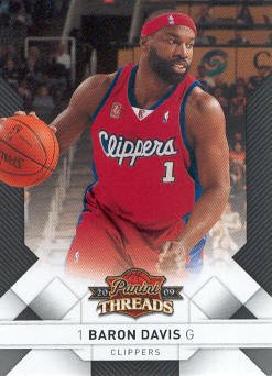 2009-10 Panini Threads #50 Baron Davis