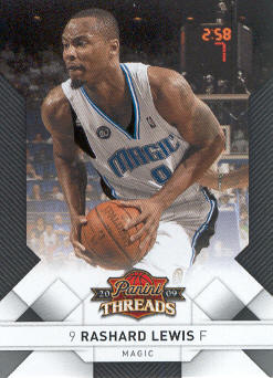 2009-10 Panini Threads #52 Rashard Lewis