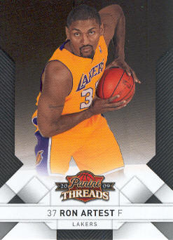 2009-10 Panini Threads #56 Ron Artest