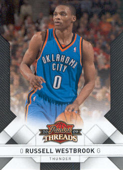 2009-10 Panini Threads #58 Russell Westbrook