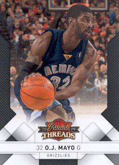 2009-10 Panini Threads #60 O.J. Mayo