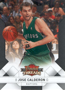 2009-10 Panini Threads #72 Jose Calderon