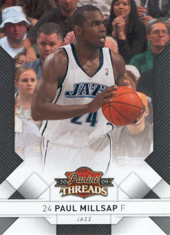 2009-10 Panini Threads #76 Paul Millsap