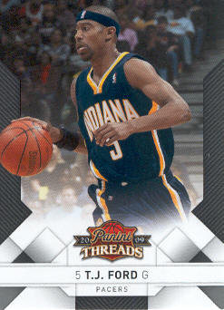 2009-10 Panini Threads #80 T.J. Ford