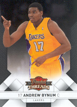 2009-10 Panini Threads #81 Andrew Bynum