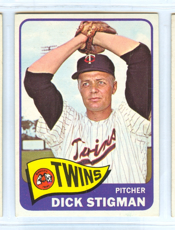 1965 Topps #548 Dick Stigman