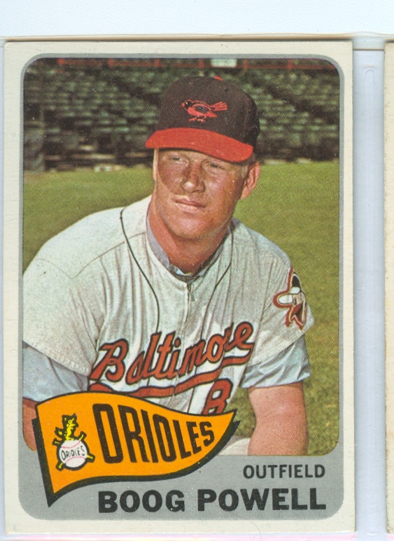 1965 Topps #560 Boog Powell SP