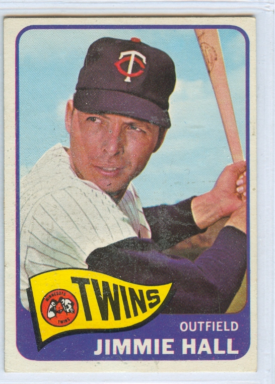 1965 Topps #580 Jimmie Hall SP
