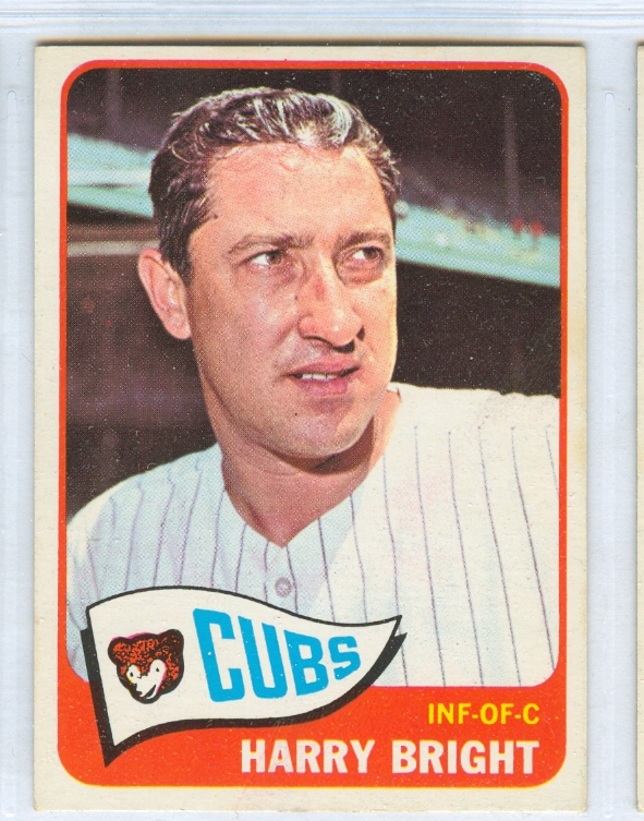 1965 Topps #584 Harry Bright