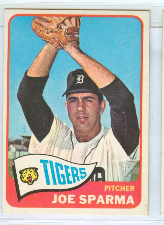 1965 Topps #587 Joe Sparma