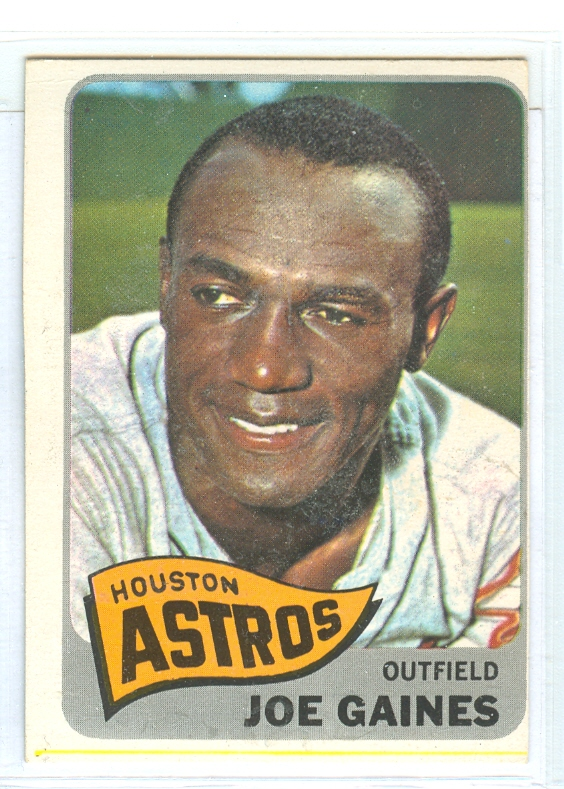 1965 Topps #594 Joe Gaines
