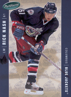 2005-06 Parkhurst #137 Rick Nash