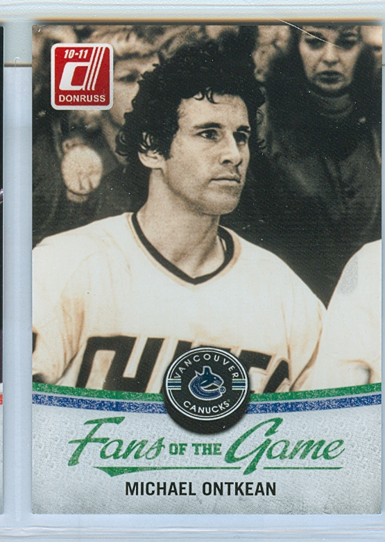 2010-11 Donruss Fans of the Game #4 Michael Ontkean