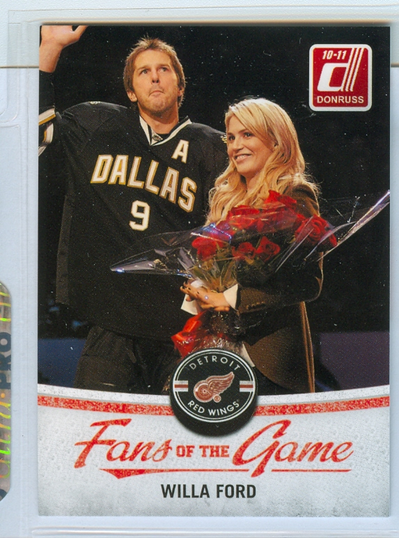 2010-11 Donruss Fans of the Game #5 Willa Ford