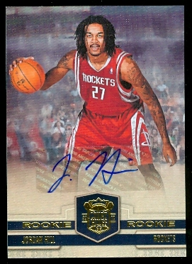 2009-10 Court Kings #127 Jordan Hill AU RC
