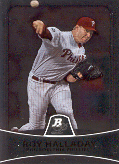 2010 Bowman Platinum #35 Roy Halladay