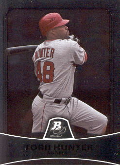 2010 Bowman Platinum #49 Torii Hunter