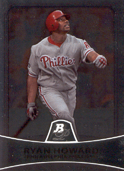 2010 Bowman Platinum #62 Ryan Howard