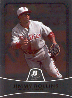 2010 Bowman Platinum #70 Jimmy Rollins