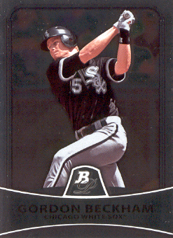2010 Bowman Platinum #81 Gordon Beckham
