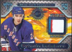 2000-01 Pacific Private Stock Titanium Game Gear Jersey #115, Sylvain Lefebvre