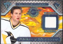 2000-01 Pacific Private Stock Titanium Game Gear Jersey #137, Aleksey Morozov