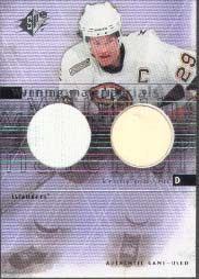 2000-01 SPx Winning Materials #KJ, Kenny Jonsson
