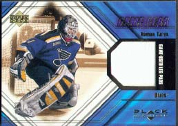 2000-01 Black Diamond Game Gear Update #L-TU Roman Turek