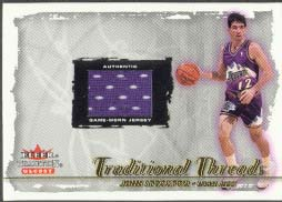 2000-01 Fleer Glossy Traditional Threads John Stockton