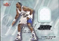 2000-01 Fleer Feel the Game Karl Malone