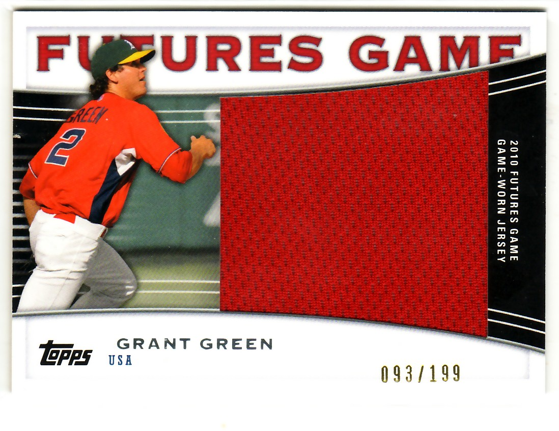 2010 Topps Pro Debut Futures Game Jersey #GG Grant Green S2